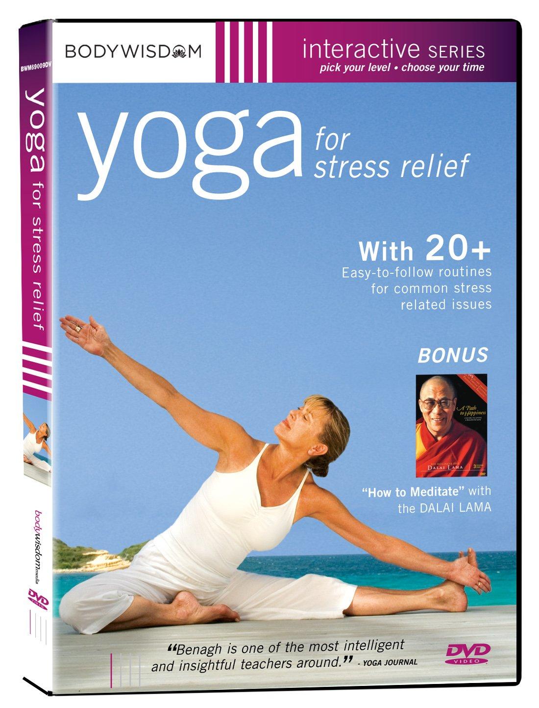 Amazon Com Yoga For Stress Relief Movies Tv