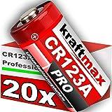 20 Pack CR123/CR123 A iones de alto rendimiento batería para aplicaciones profesionales – Última Generación
