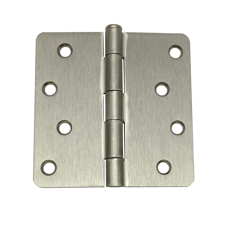 Colester Direct 4 inch Door Hinge with 1//4 Corner Radius 9, Oil Rubbed Bronze