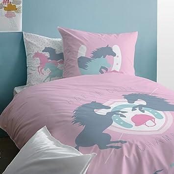 Pferde Bettwäsche Für Mädchen Biber Kinderbettwäsche Wende Motiv