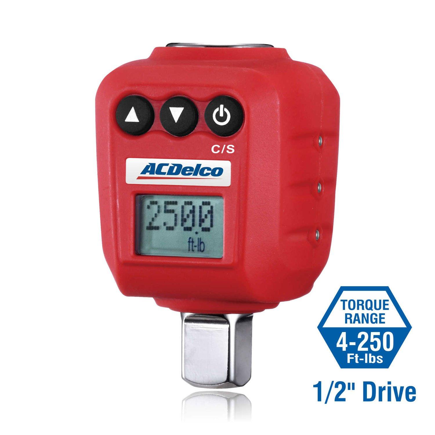 ACDelco 1/2'' Digital Torque Adapter (4-250 ft-lbs) with Audible/LED Alert ARM602-4A by ACDelco Tools (Image #3)
