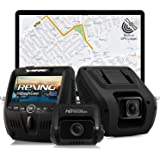 Rexing V1LG Dual Channel Car Dash Cam FHD 1080p 170° Wide Angle Dashboard Camera Recorder with HD Rear Camera, Built-in…
