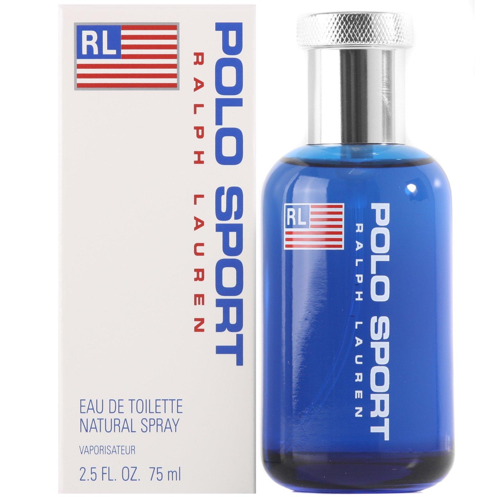 Polo Sport by Ralph Lauren for Men, Eau De Toilette Natural Spray, 2.5 Ounce