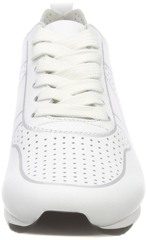 Kennel Niedrig-top und Schmenger Damen Tiger Niedrig-top Kennel Sneaker, Weiß (Bianco/Silver Sohle Weiß) cefcd3