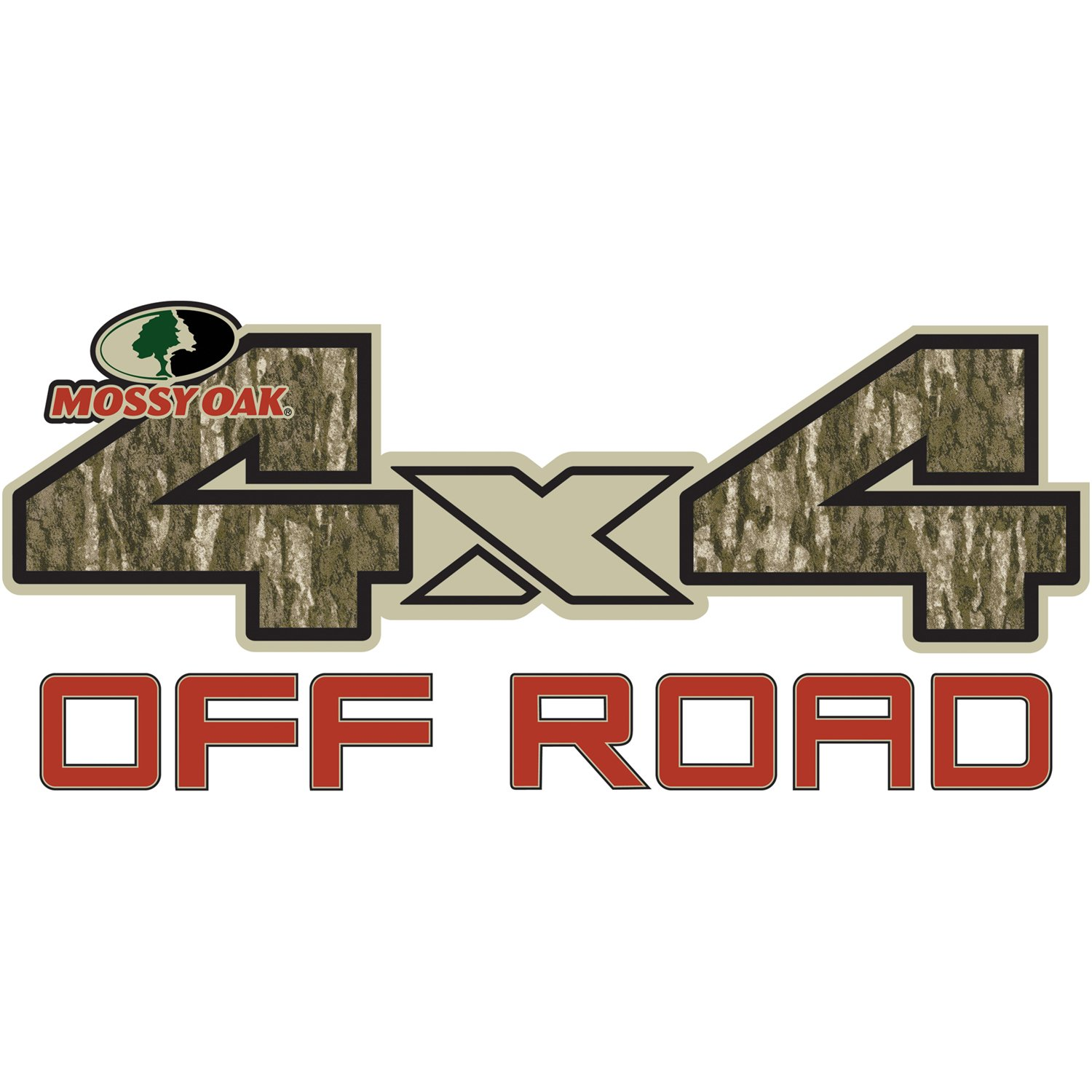 Mossy Oak Graphics 13002-BL-L Bottomland 17.75 x 8 4x4 Off-Road Style Decal