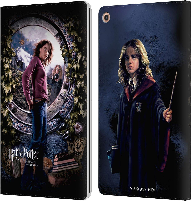 Head Case Designs Oficial Harry Potter Hermione Poster Prisoner of Azkaban IV Carcasa de Cuero Tipo Libro Compatible con Samsung Galaxy Tab A 10.1 ...