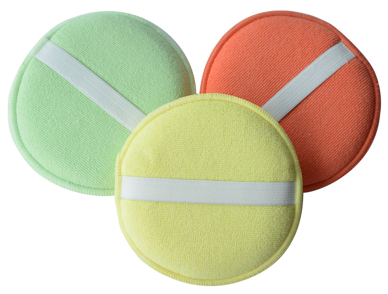 Sinland Microfiber Sponge Polishing Applicator Pads Car Detailing Polish Waxing Sponge (3 Pack) 4333116405