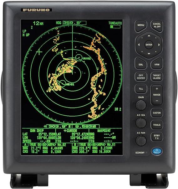 Furuno fr8125 UHD sistema de radar, 12, 12 kW, menos Ant.: Amazon.es: Electrónica