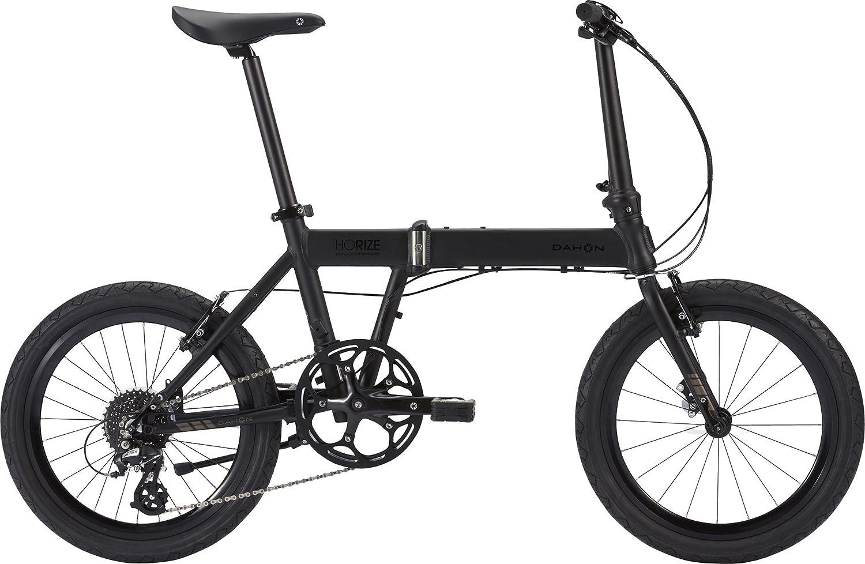 DAHON(ダホン) Horize 20インチ アルミフレーム 8段変速 折りたたみ自転車 B074MX35CWドレスブラック