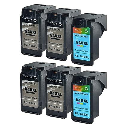 nineleaf 6 Pack - PG-545 X L y CL-546 X L remanufacturados para ...