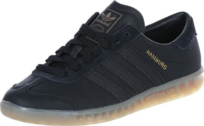 sale retailer good texture cute adidas Hamburg Homme Baskets Mode Noir: Amazon.fr: Vêtements ...