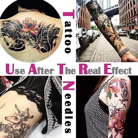 ago per Tatuaggio 3RT Ogni 100 Pezzi Set Multicolore 4 BFHCVDF Ago per Tatuaggio 1RL