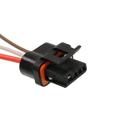 1988-1992 TPI TBI Alternator Wiring Harness Connector - Fits Camaro Firebird: Automotive