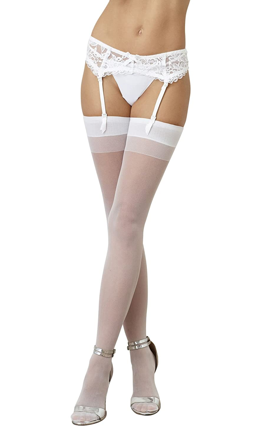 Dreamgirl Women's Thigh High with Back Seam Black One Size 0007-BLACK-O/S reikos_0016707967_029