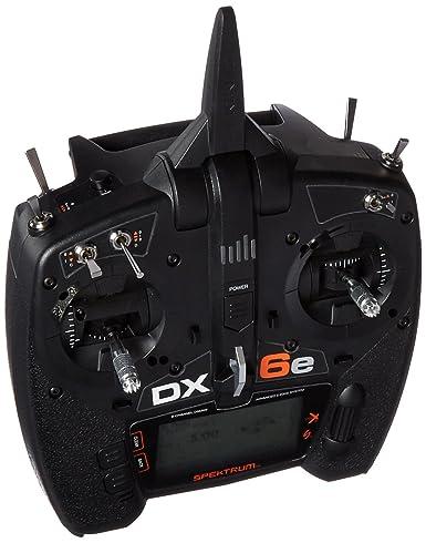 amazon com spektrum dx6e 6ch transmitter toys games rh amazon com