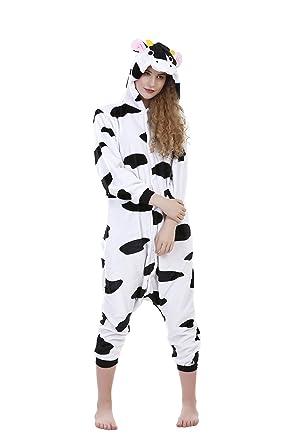Cow Onesie Pyjama Set  Amazon.in  Clothing   Accessories 641264e01