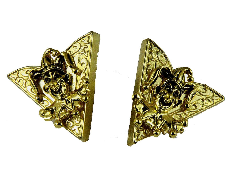 4031766 Set of Jester Collar Tips Stays ROJ Royal Order Jesters Billiken Formal Dress