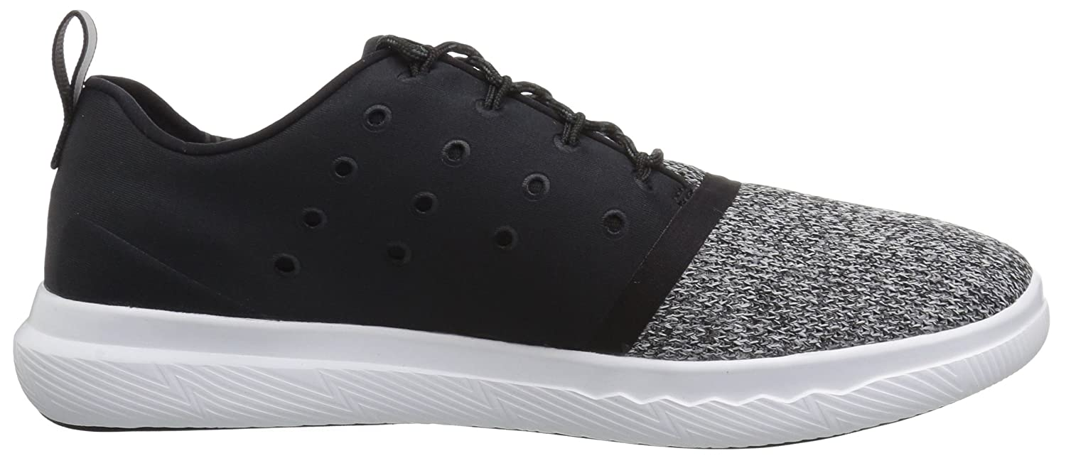 Under Armour Men's Charged 24/7 Sneaker B01HQSOI2O 9 M US|Black (001)/White