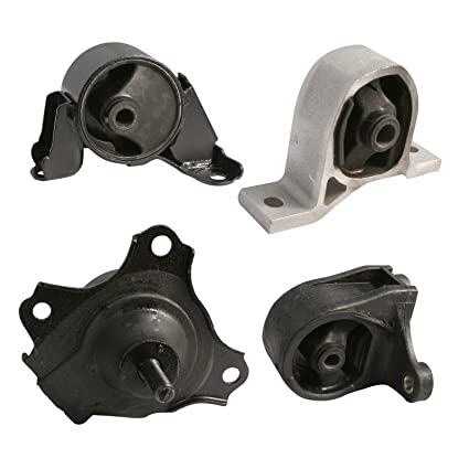 4pc Motor Engine Mounts Set Kit For 01 05 Honda Civic   1.7L Cylinder