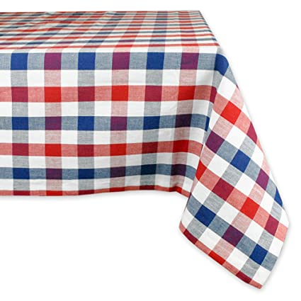 Ordinaire DII 100% Cotton, Machine Washable, Dinner, Summer U0026 Picnic Tablecloth, 60