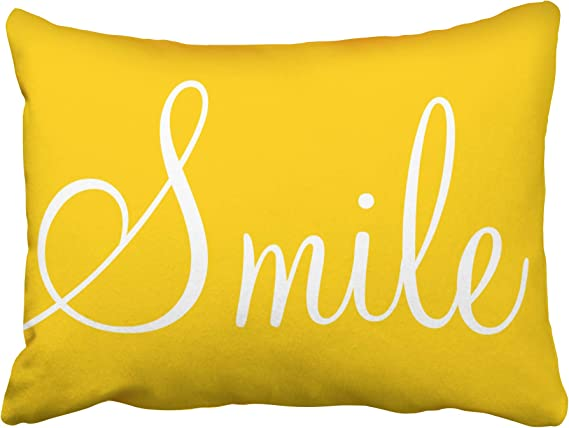 EllaOSlea Home decorate Naples Yellow Traditional Color Body Pillow Covers Cases With Double Sided 20x54