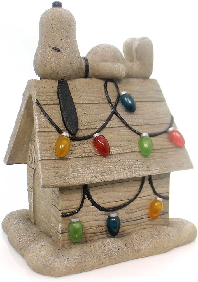 "Peanuts Snoopy Christmas Lights Dog House Paper Napkins Pkg of 40 13/"" X 13/"""