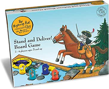 Gruffalo The Highway Juego de Mesa de Ratas para niños de 3 años en adelante: Amazon.es: Juguetes y juegos