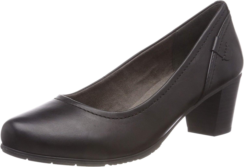 TALLA 38 EU Ancho. Jana 8-8-22404-21 001, Zapatos de Tacón para Mujer