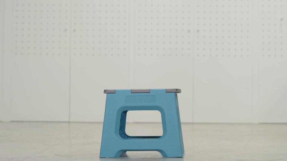 VIGAR Taburete Plegable Compact Color Gris de 40 cm de Altura y ...