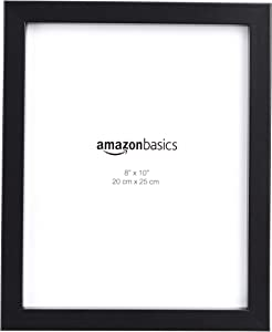 "AmazonBasics Photo Picture Frame - 8"" x 10"", Black - Pack of 5"