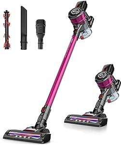 ONSON Cordless Vacuum Cleaner 20KPa Powerful Suction 250W Motor 2 in 1 Stick Handheld Vacuum for Home Hard Floor Carpet Car Pet Hairs