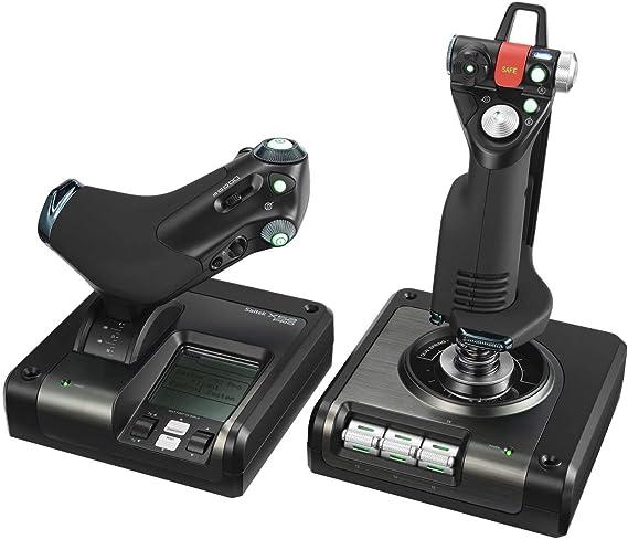 Logitech G Saitek X52 Pro Flight Contol System (renovado): Amazon.es: Electrónica