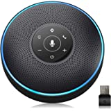 Bluetooth Speakerphone - eMeet Conference Speaker for 5-8 People Business Conference Phone 360º Voice Pickup 4 AI…