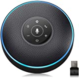 Bluetooth Speakerphone - Conference Speaker for 5-8 People Business Conference Phone 360º Voice Pickup 4 AI Microphone…