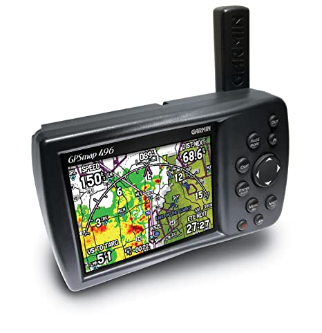 Garmin GPSMAP 496 Aviation GPS Receiver on