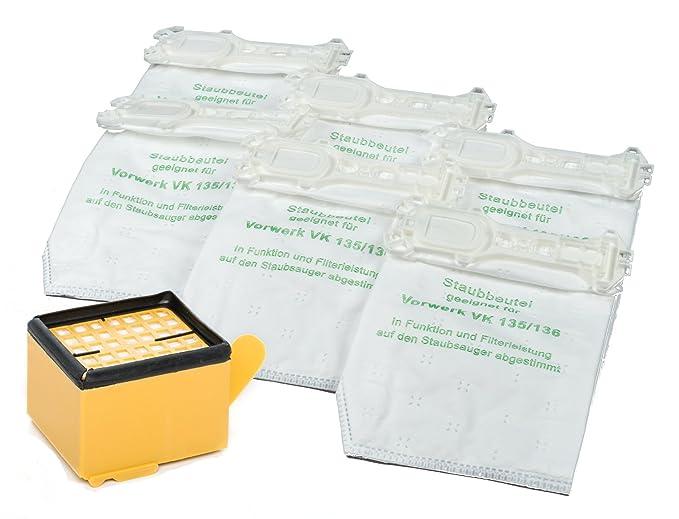 12 sacs + 1 filtre Vorwerk VK135 et VK136