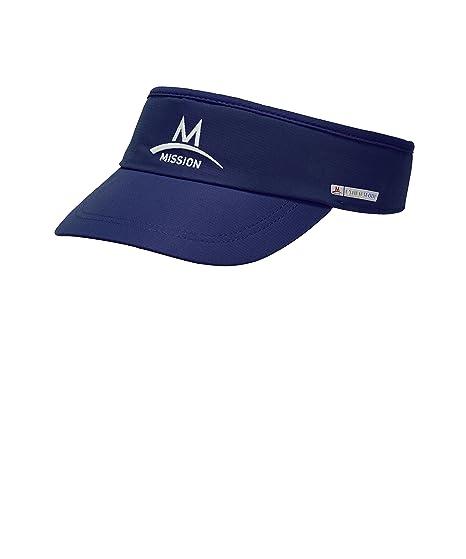 Mission Cooling Visor Kleding, fitnessaccessoires Fitness, atletiek, yoga Navy & Pink