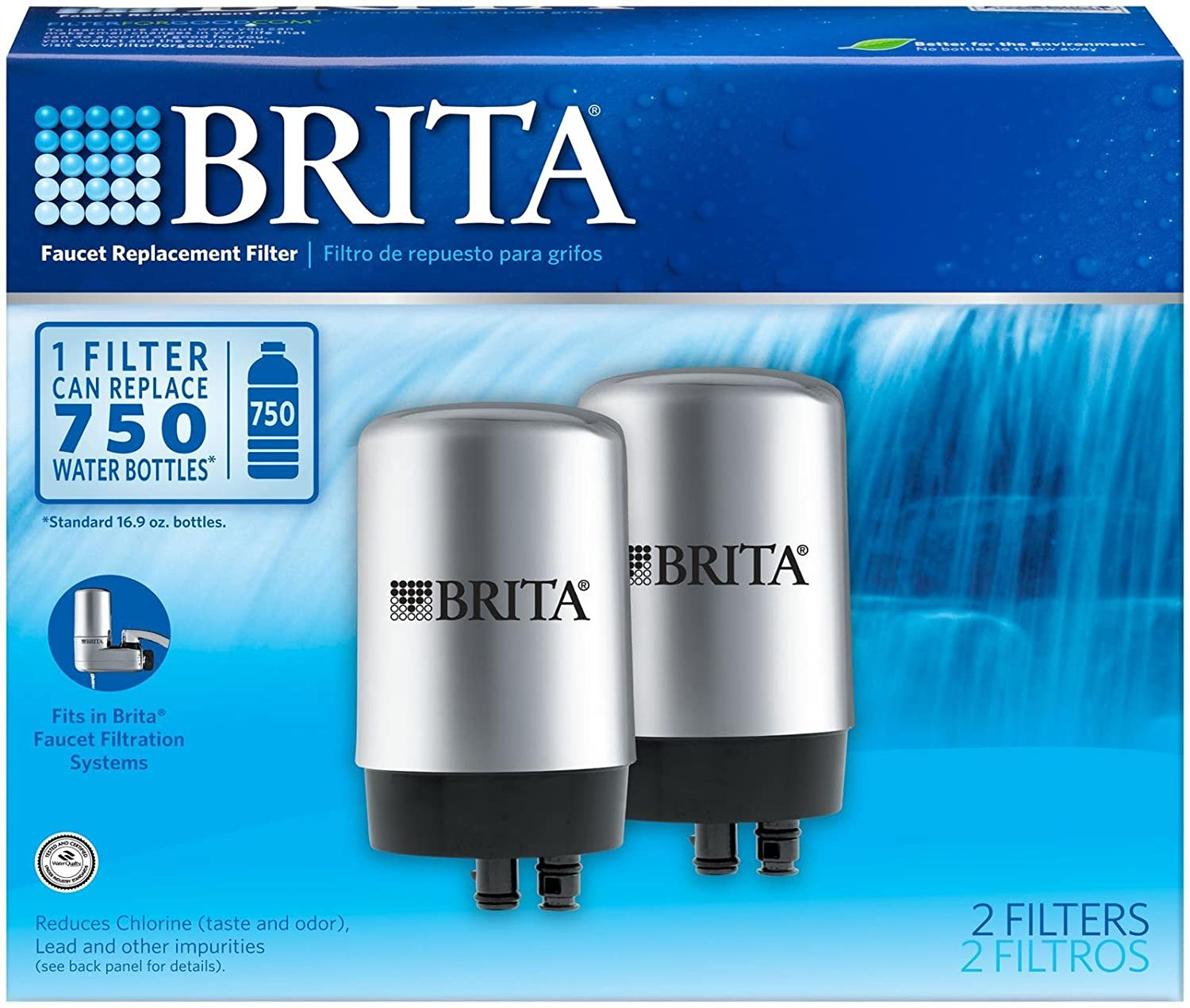 Amazon.com: Brita On Tap Replacement Filters-2 ct: Health ...