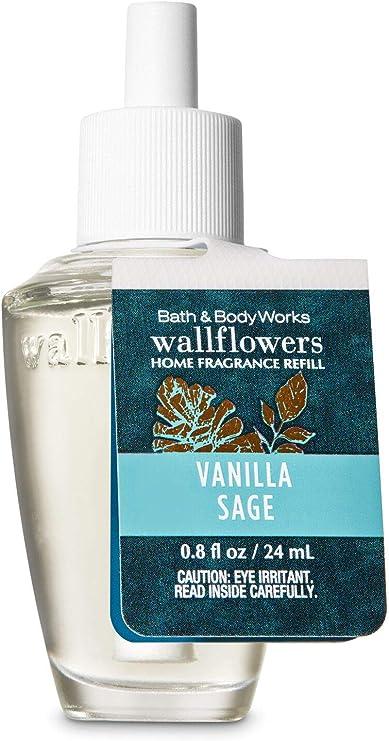 【Bath&Body Works/バス&ボディワークス】 ルームフレグランス 詰替えリフィル バニラセージ Wallflowers Home Fragrance Refill Vanilla Sage [並行輸入品]