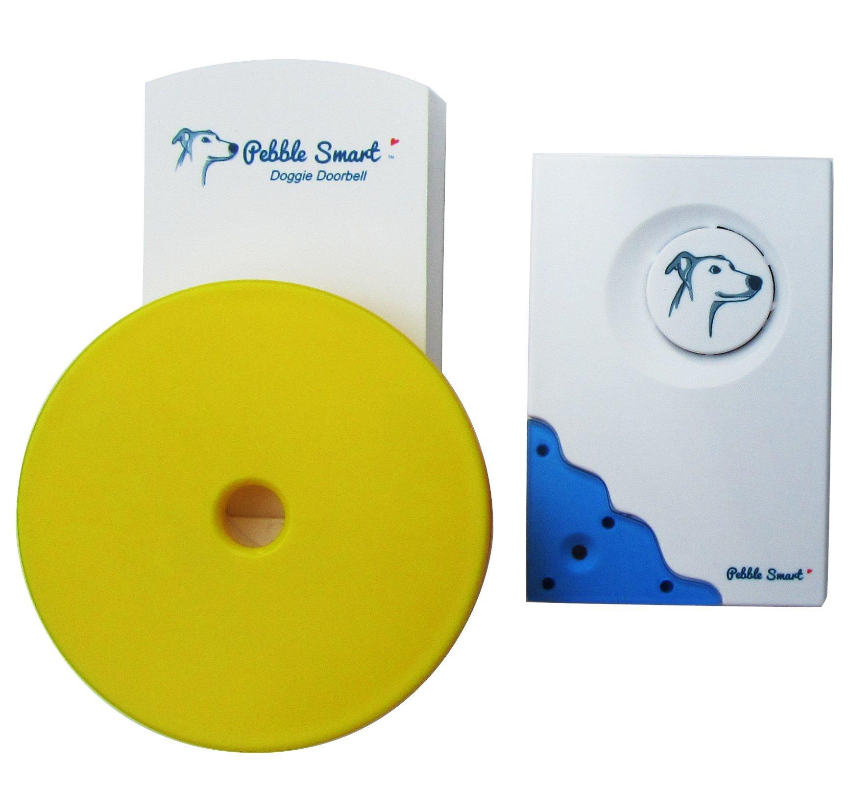 Pebble Smart Doggie Doorbell -Blue Accent by Pebble Smart