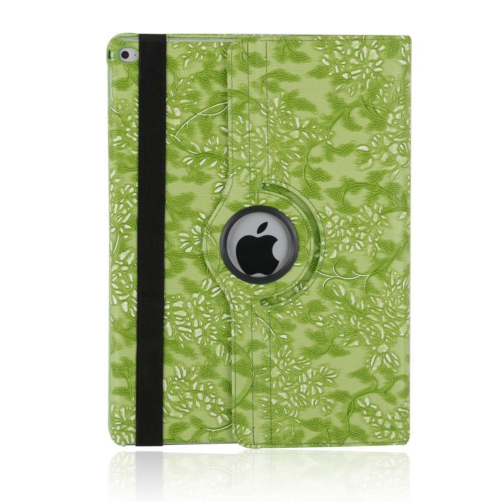iPad 3 Case Cover,TechCode 360 Degrees Rotating Smart Multi Function Screen Protective Flip Folio Stand Case Cover for Apple iPad 2/iPad 3/iPad 4 Tablet PP-PTW-234-BK