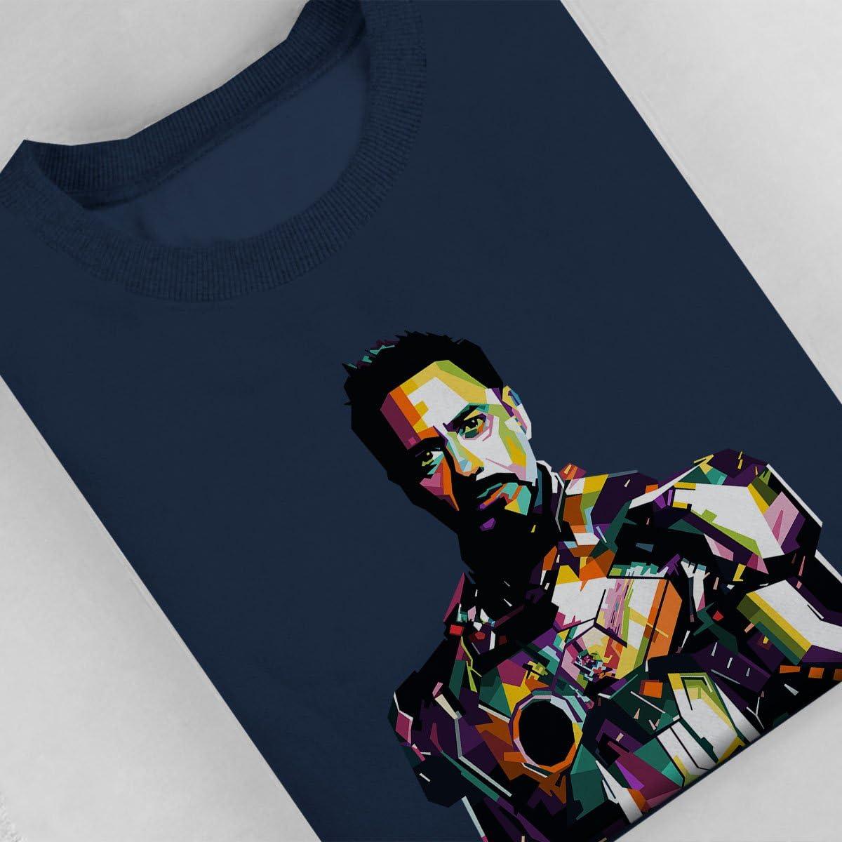 Coto7 Geometric Celebrity Robert Downey Jr Tony Stark Kids Sweatshirt