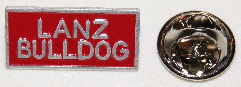Lanz Bulldog Cartel Rojo Texto Tractor L Pin L nadadores L ...