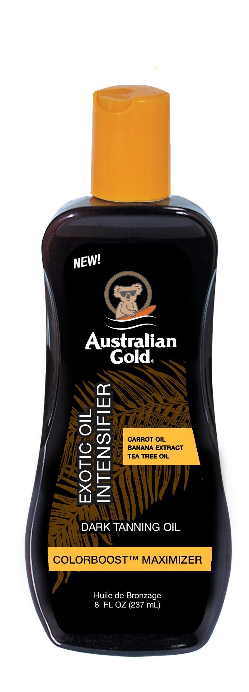 Australian Gold Dark Tanning Exotic Oil, 8 Ounce, Carrot Extract Formula