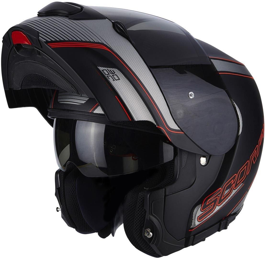 Scorpion Motorcycle helmets ADX 1 BATTLEFLAGE Sable Grey