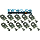 "For 1//4/"" Brake line 4 Pack Stainless Brake Line Clamp Dunebuggy /& VW"