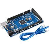 ELEGOO MEGA2560 R3 Board ATmega2560 ATMEGA16U2 with USB Cable Compatible with Arduino IDE