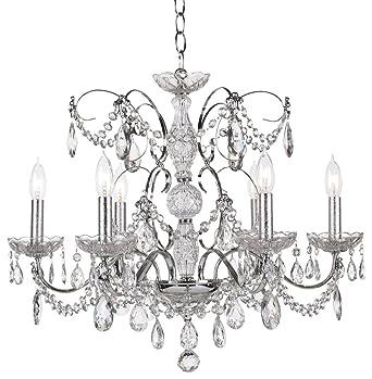 schonbek la scala rock crystal collection chandelier - Schonbek Chandelier