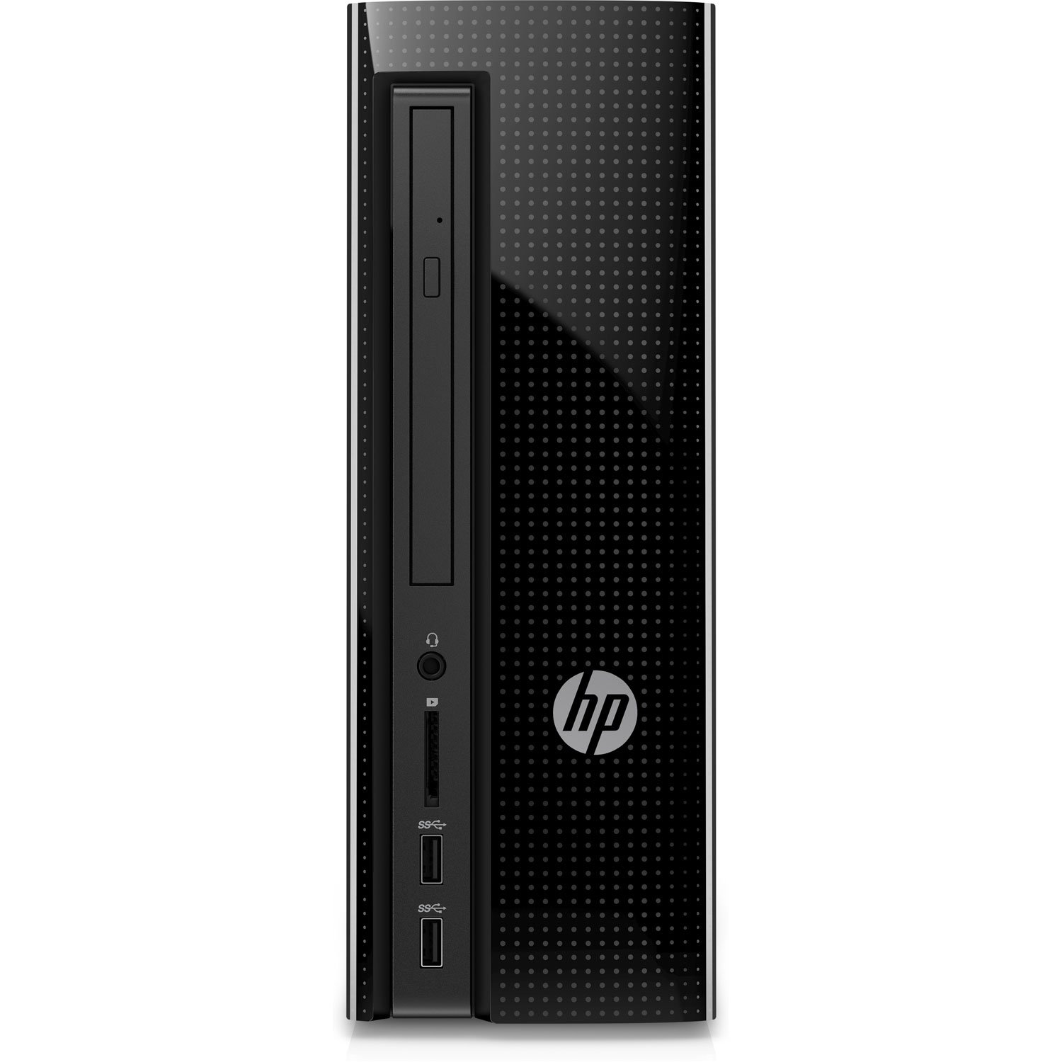 HP Slimline Desktop Computer, Intel Pentium J4205, 4GB RAM, 1TB hard drive, Windows 10 (270-a010, Black)