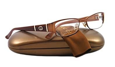 eff5f5f1ab2 Amazon.com  Gucci GG2910 Eyeglasses - 0MI2 Brown - 52mm  Gucci  Shoes